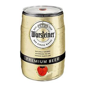 Bom bia Đức Warsteiner Premium 5 lít