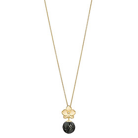 Dây Chuyền Galatea Jewelry Momento Talking Pearl MO-13YT - Đen