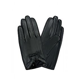 Găng tay nữ da dê thật EGW98