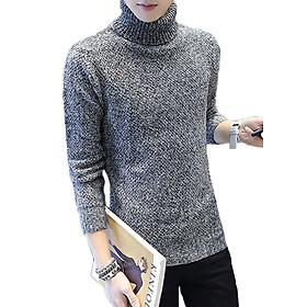 Áo len cao cổ nam form body Zavans