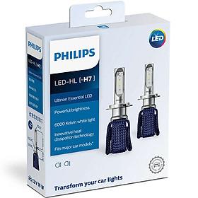 Bóng Đèn Pha Ô tô, Xe hơi Philips Ultinon Essential LED H7 11972UEX2 6000K