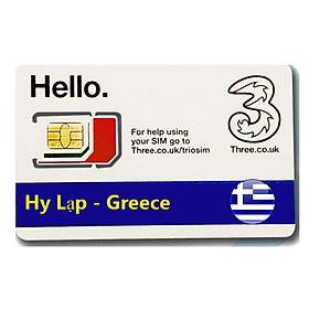 Sim Du lịch Hy Lạp - Greece 4G tốc độ cao