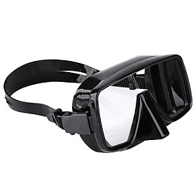 Adults Anti-Fog Silicone Mask Scuba Diving Snorkeling Goggles Glasses