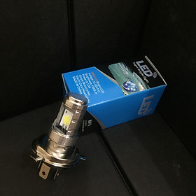Đèn LED chân H4 siêu sáng, dễ dàng lắp đặt dành cho xe máy, oto - 4800 LM - 05
