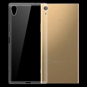 Ốp lưng silicon dẻo trong suốt dành cho Sony Xperia XA1 Plus - Hàng cao cấp