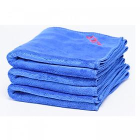 Bộ 3 khăn lau xe ô tô chất liệu Microfiber size 30x70cm