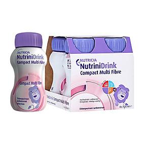 Sữa NutriniDrink Compact Multifiber Chai 125ml ( Lốc 4 chai )