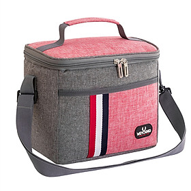 Túi đựng hộp cơm. Túi giữ nhiệt đa năng nhiều lớp. Túi đựng đồ ăn trưa. Túi chống toả nhiệt, dày dặn, có tay xách, phong cách Hàn Quốc thời trang, hiện đại KORESTA12.