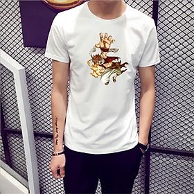 Áo Thun Nam Cực Hot - Chất Cotton - Dáng Body Thời Trang Hàn Quốc Giá Rẻ Cực Đẹp Kiểu Dáng Năng Động Cá Tính Siêu Hot Phù Hợp Đi Làm, Đi Chơi ANM-89 Fairy Tail