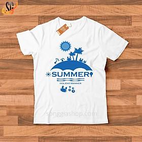 Áo thun in Summer - Thun Cotton - Đủ size SGS120
