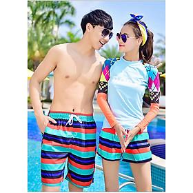 Combo quần bơi đôi nam nữ QB 6092