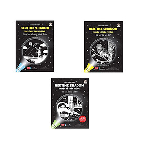 Combo 3 cuốn Sách chiếu bóng - Bedtime shadow - Truyện kể trên tường: Bé can đảm nhất + Là ai, là ai đó + Bay lên những cánh diều