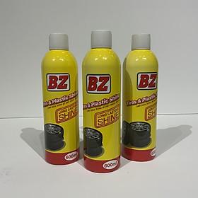 Chai xịt bảo dưỡng vỏ, nhựa nhám BZ