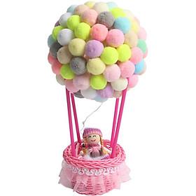 Hot Air Balloon Ornaments Creative Valentine's Day Birthday Present Home Decoration DIY Handmade Night Light