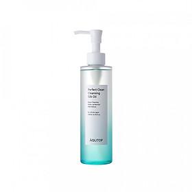 Dầu tẩy trang làm mềm da AQUTOP Perfect Clean Cleansing Silk Oil (200 ml)