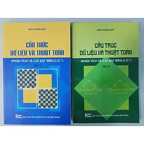 Combo Cấu Trúc Dữ Liệu Và Thuật Toán (Phân Tích Và Cài Đặt Trên C/C++) - Tập 1 + Tập 2