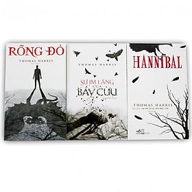 Combo 3 cuốn: Sự im lặng của bầy cừu, Rồng đỏ, Hannibal