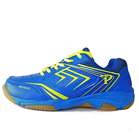 Giày cầu lông Promax nam nữ chính hãng 19002 màu xanh dương