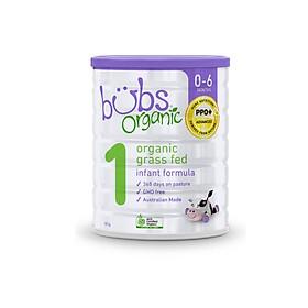 Sữa bò hữu cơ Bubs số 1 cho trẻ 0-6 tháng tuổi