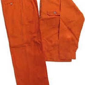 Bộ Quần áo Bảo Hộ Lao Động Màu Cam