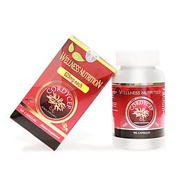 Thực Phẩm Bảo Vệ Sức Khỏe Nature Gift Wellness Nutrition - Đông trùng Hạ Thảo (Hộp 90 viên)