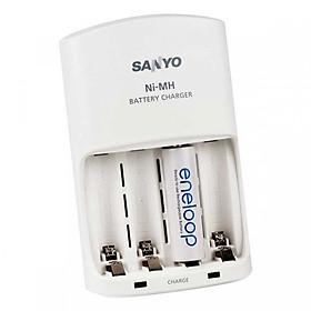 Sạc Pin Sanyo Eneloop NC-MQN06 Hàng nhập khẩu