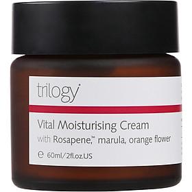 Kem dưỡng ẩm ngày và đêm Trilogy Vital Moisturising Cream 60ml