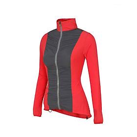 Áo khoác thể thao nữ chống tia UV, vải nhanh khô, thoát nhiệt, thoáng mát - Alayna