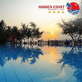 [2021] Golden Coast Resort & Spa 4* Phan Thiết - Gói 2N1Đ Spa + Ăn 03 Bữa, Hồ Bơi, Bãi Biển Riêng, Gần Kê Gà, Nhiều Ưu Đãi Hấp Dẫn, Không Phụ Thu Cuối Tuần