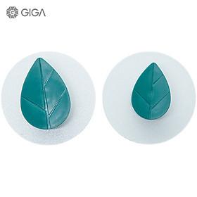 GIGA Essential phong cách Bắc Âu Ins không đục lỗ liền mạch dán mạnh mẽ/móc treo tường không có móc khóa móc/cửa phòng tắm phòng ngủ nhiều màu hoạt hình móc nữ/Móc hình chiếc lá