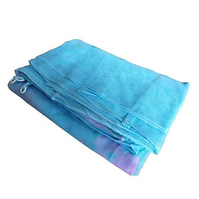 Mùng ngủ không cửa giăng dây 4 góc truyền thống - Vải tuyn dày lỗ nhỏ chống muỗi tuyệt đối - Hồng - 1M8 X 2M