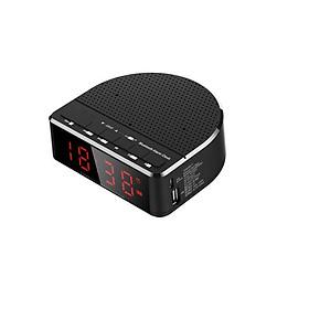 Loa Bluetooth có mặt đồng hồ báo thức