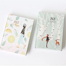 Sổ Tay Kế Hoạch 365 Ngày Cao Cấp - Tặng kèm 03 Tấm Sticker Mini - Nhiều màu sắc để chọn lựa - Sổ Tay Chính Hãng VinBuy