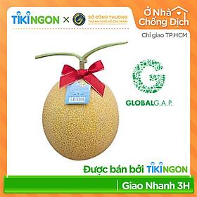 [Chỉ giao HCM] - Dưa lưới Global GAP (1,9kg - 2kg) - được bán bởi TikiNGON - Giao nhanh 3H