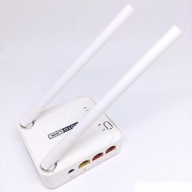 Bộ Phát Wifi Totolink 2 Râu Tốc Độ 300Mbps- Mini Wireless N Router N200RE- Hàng Chính Hãng