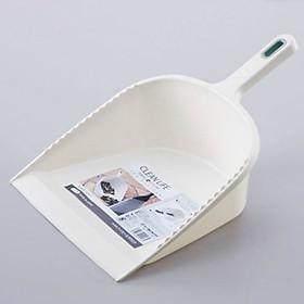 Bộ 2 ky hốt rác nhựa cao cấp tiện dụng (màu trắng) - Hàng nội địa Nhật