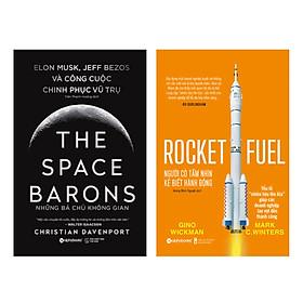 Combo Sách: Những Bá Chủ Không Gian- The Space Barons  + Người Có Tầm Nhìn, Kẻ Biết Hành Động