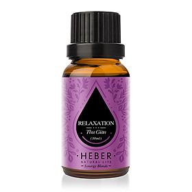 Tinh Dầu Thư Giãn Relaxation Blends Essential Oil Heber | 100% Thiên Nhiên Nguyên Chất Cao Cấp