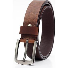 Thắt lưng nam da bò AT Leather - S4k02 - Da bò sáp