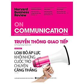 Tủ Sách Dành Cho Doanh Nhân: HBR On Communication - Truyền Thông Giao Tiếp; Tặng Sổ Tay Giá Trị (Khổ A6 Dày 200 Trang)