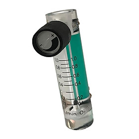Oxygen Flow Meter Flowmeter with Control Valve for Oxygen Air
