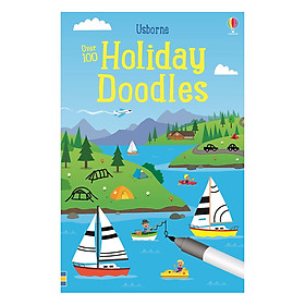 Usborne Over 100 Holiday Doodles