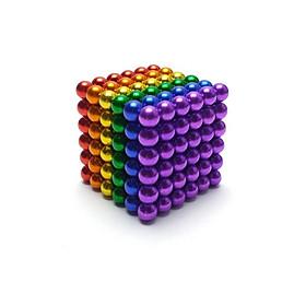 Bộ bi nam châm xếp hình thông minh, lực hút mạnh, kích thích sự sáng tạo cho trẻ - Buckyballs