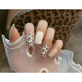 Bộ 24 móng tay giả nail thơi trang như hình V3