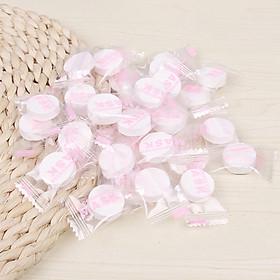 Bộ 100 Mặt Nạ Cotton Nén DIY