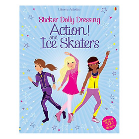 Usborne Sticker Dolly Dressing : Action and Ice Skaters (bind up)