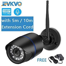 Camera An Ninh Evkvo - Icsee Xmeye Wifi Hd 1080p Không Dây Chống Thấm Nước Ip Hồng Ngoại 2 Chiều