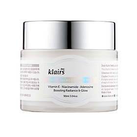 Mặt Nạ Ngủ & Kem Dưỡng Ẩm, Dưỡng Sáng Da Klairs Freshly Juiced Vitamin E Mask 90ml
