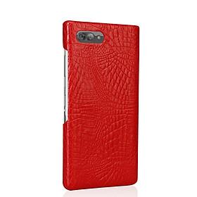 Ốp Lưng Dành Cho Blackberry Key2 Vân Cá Sấu Màu Đỏ