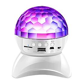 Đèn Nhấp Nháy USB/TF/AUX Xoay 360° Có Loa Kết Nối Bluetooth